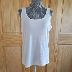Sonoma everyday tank in white, size XL
